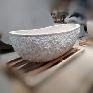Ванна из мрамора размер L