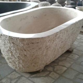 Ванна из мрамора размер M