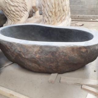 Ванна из речного камня размер XL